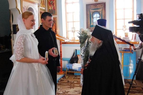 Свадьба когда благословить иконами